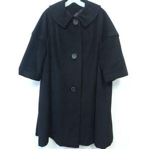 💥Vintage 1950 Wool Swing Coat Opera Sleeves